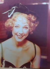 My first professional job was with The Acting Company. I toured for three years playing old women and boy soldiers. This was my first leading role as Billie in Broadway by George Abbott.