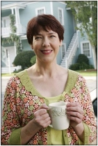 Felicia Tilman from Desperate Housewives. She looks so sweet here, but boy she meant business.
