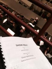 THe sitzprobe for Show Boat at the San Francisco Opera.