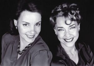 with Margaret Colin in Old Acquaintance photo- James Hamilton